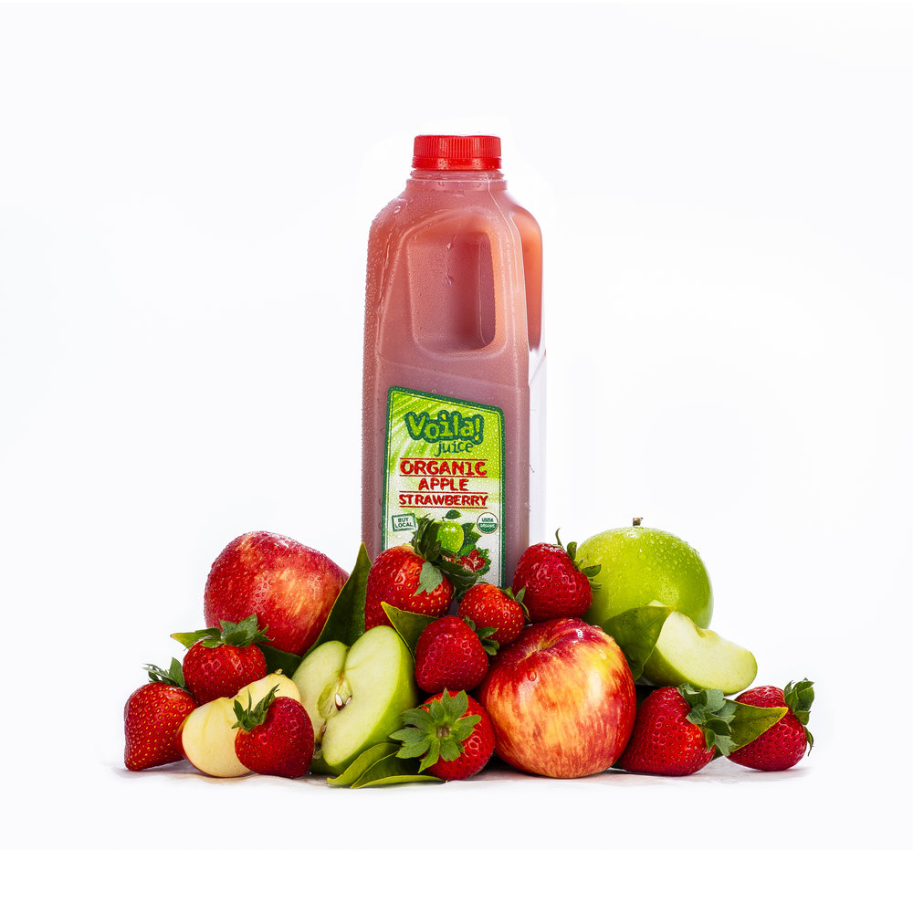 ORGANIC APPLE STRAWBERRY
