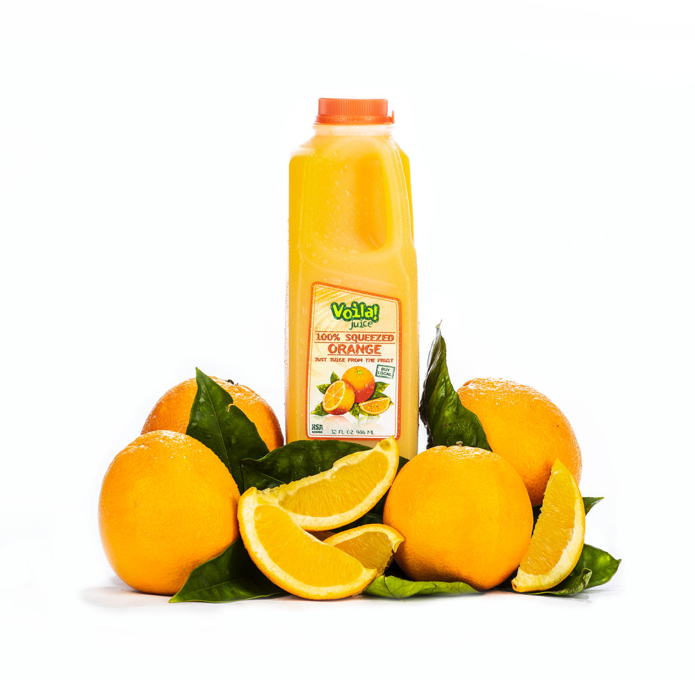 100% SQUEEZED ORANGE JUICE
