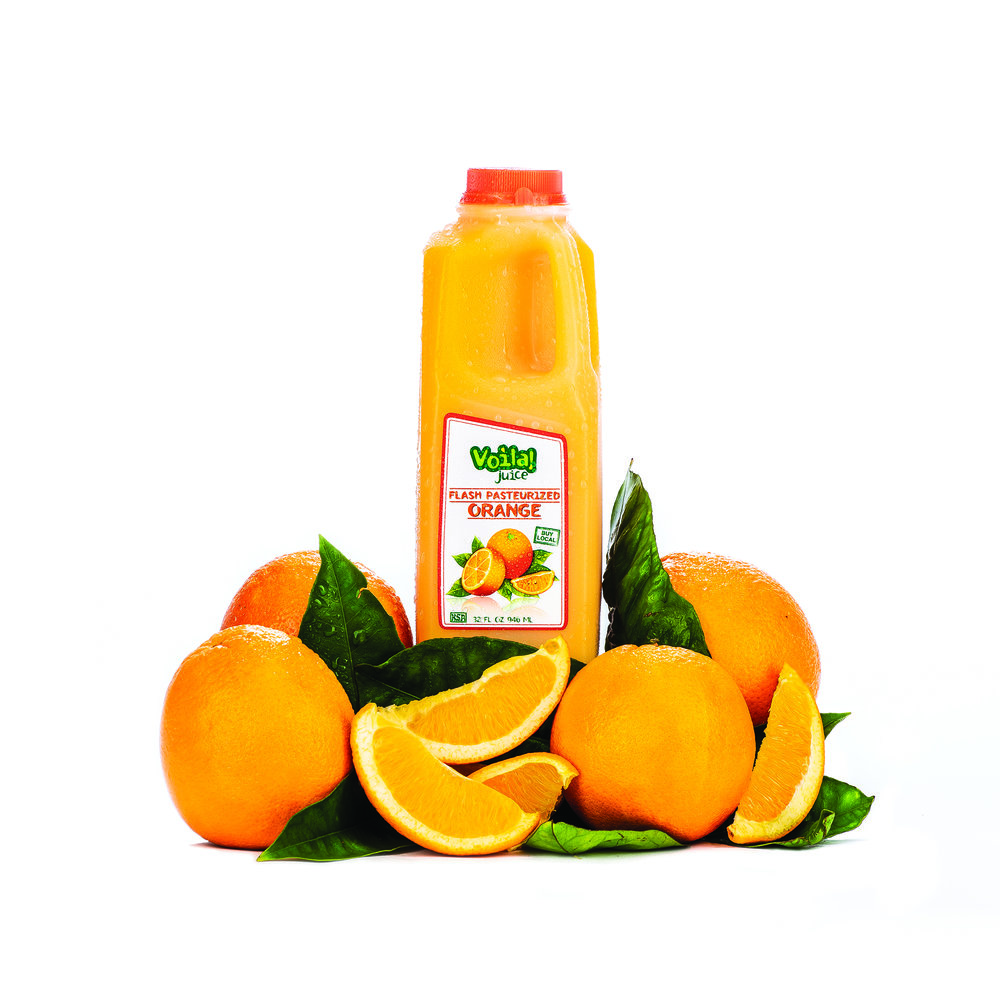 FLASH PASTEURIZED ORANGE JUICE