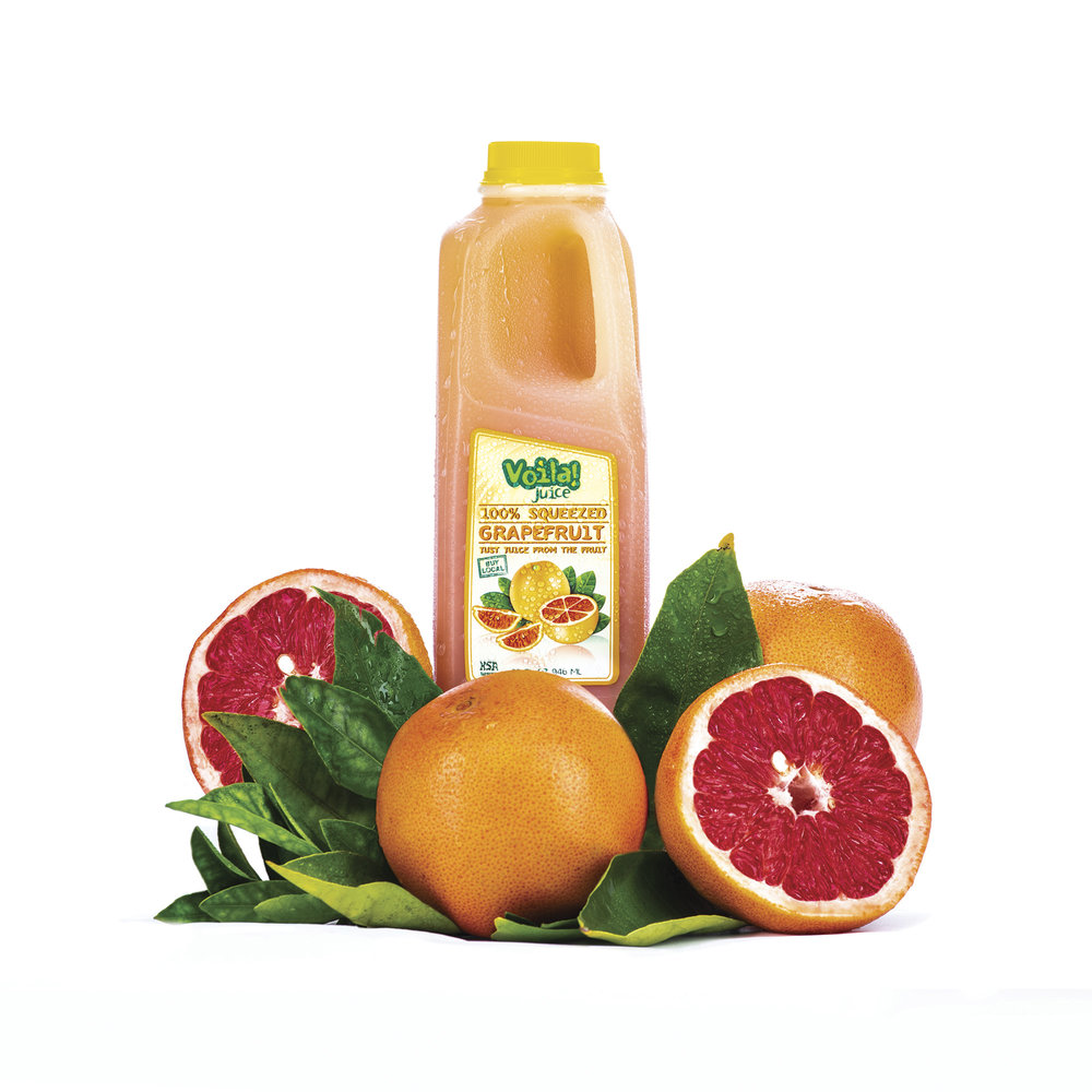 100% SQUEEZED GRAPEFRUIT