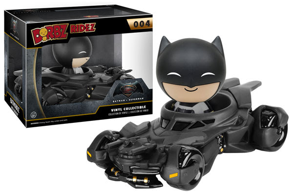 New Funko Batmobile Dorbz Ridez for Wildcard Toys/The Bat Blog
