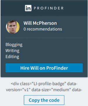 Profinder Badge Option 1