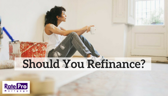 Should You Refinance? for RatePro Mortgage