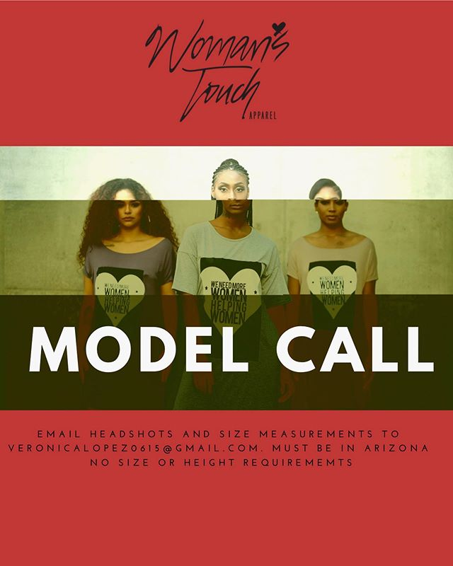 We don't discriminate. Apply today! #modelcall