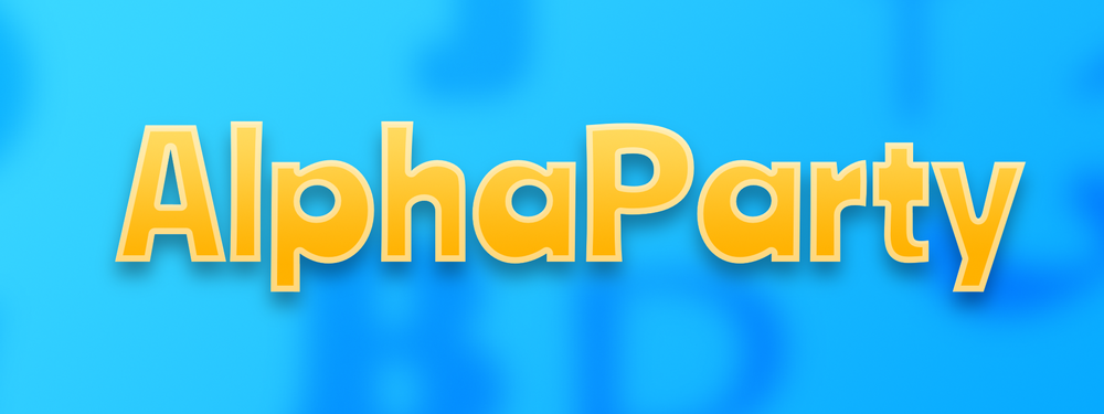 Alpha Party, multiplayer casual game for Apple TV and any smart phone