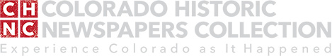 Colorado Historic Newspapers