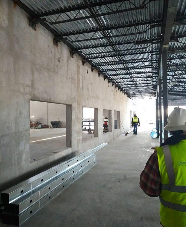 BLPA Main Hallway Construction