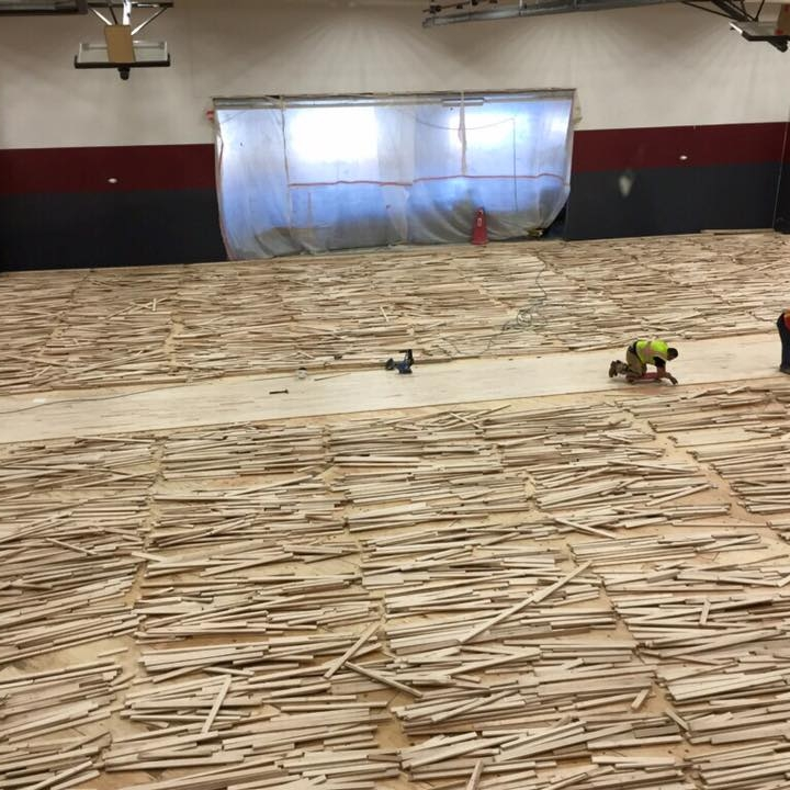 BLPA Gym Floor Assembly