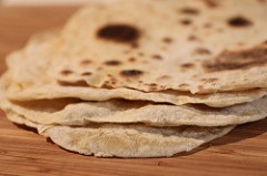 Homemade tortillas Photo Credit: Stacy Spensley, Flickr http://bit.ly/2klYozI