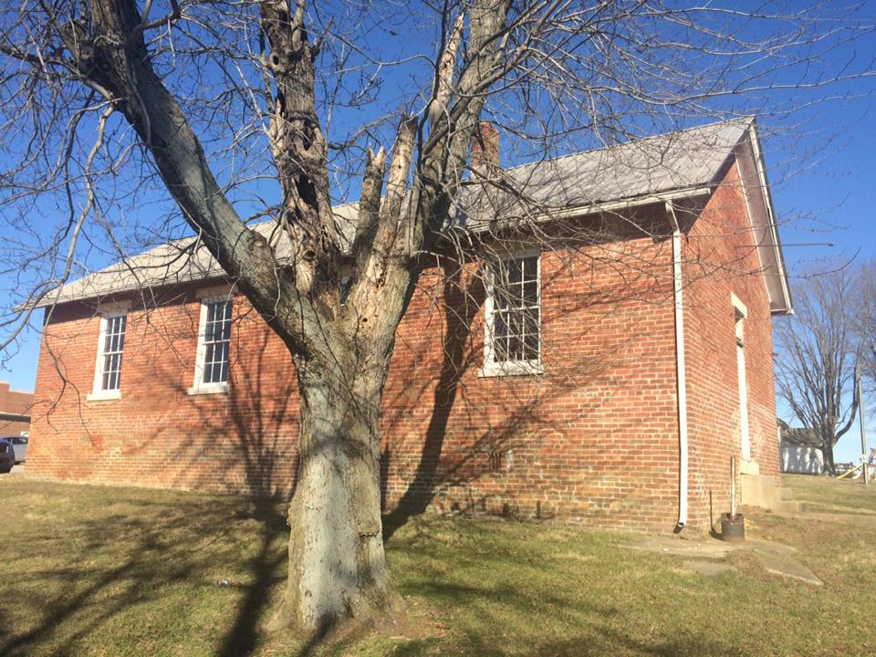 The old Sauers school house in Jackson County
