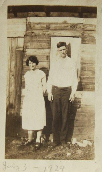 Alma Bruns Lutz & Earl Lutz - 1929