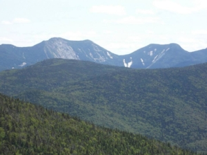 The view from the summit of Cascade Mountain, Adirondack High Peaks, New York