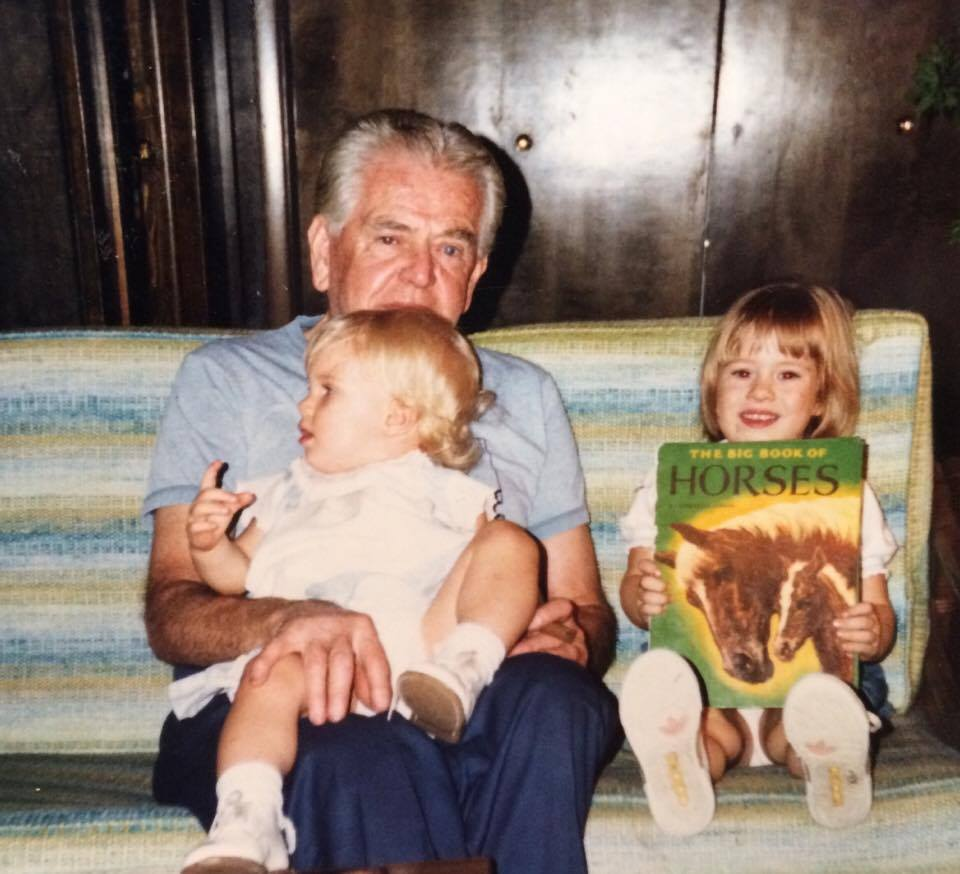 My Papaw Andrews loved to read us books about horses