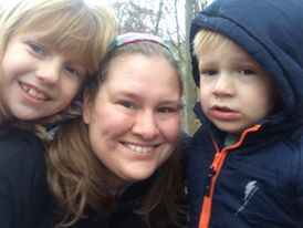 Me with my main squeezes - Ellie & Micah, out hiking, as usual