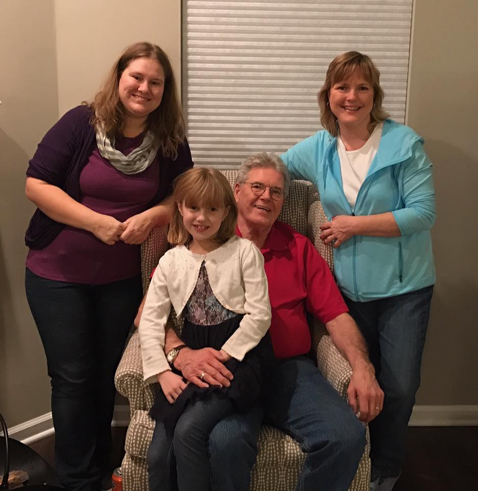Four generations of the Lutz family - and we all love to tell stories