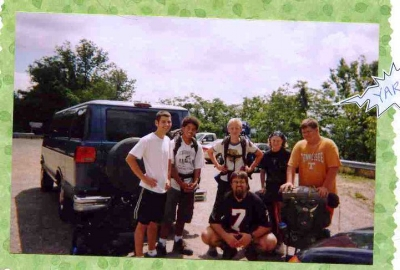 The Camptown backpacking trip where Ben and I met - making memories