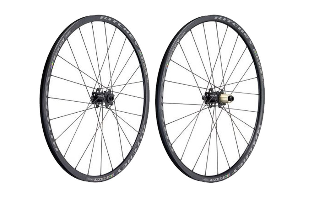 - Alloy Clincher disc brake  - Rim width: 22mm // Rim depth: 25mm  - Tubeless ready  -  Ritchey WCS Phantom Flange hubs // Centerlock rotor mount  - Weight: 1,560g  - $619 (with purchase of frame, price includes tubes and tires)