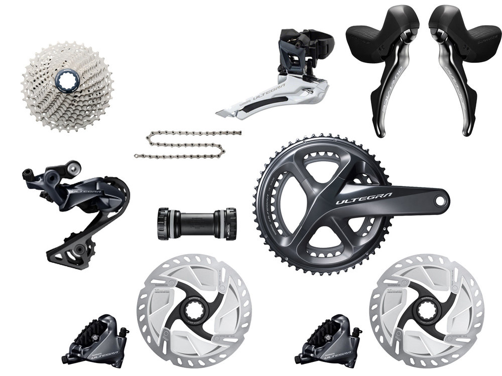 - Mechanical shifting // Hydraulic flat mount disc brake  - Cassette: 11-30 tooth // Chainring: 52-36 tooth  - Crank lengths: 165mm, 167.5mm, 170mm, 172.5mm, 175mm  - $975 (with purchase of frame)