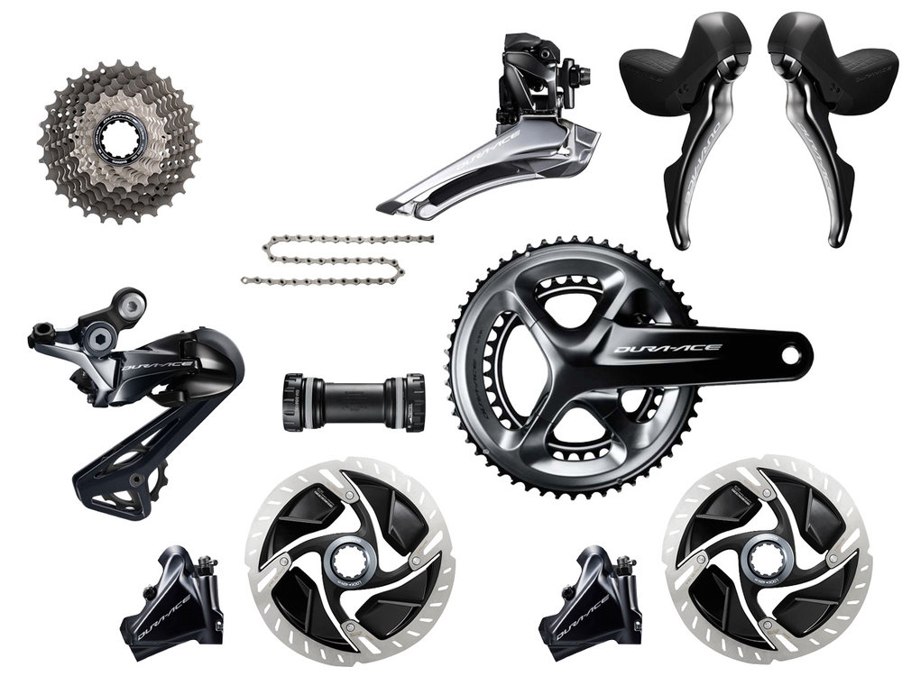 - Mechanical shifting // Hydraulic flat mount disc brake  - Cassette: 11-30 tooth // Chainring: 52-36 tooth  - Crank lengths: 165mm, 167.5mm, 170mm, 172.5mm, 175mm  - Special features  - $1,800 (with purchase of frame)