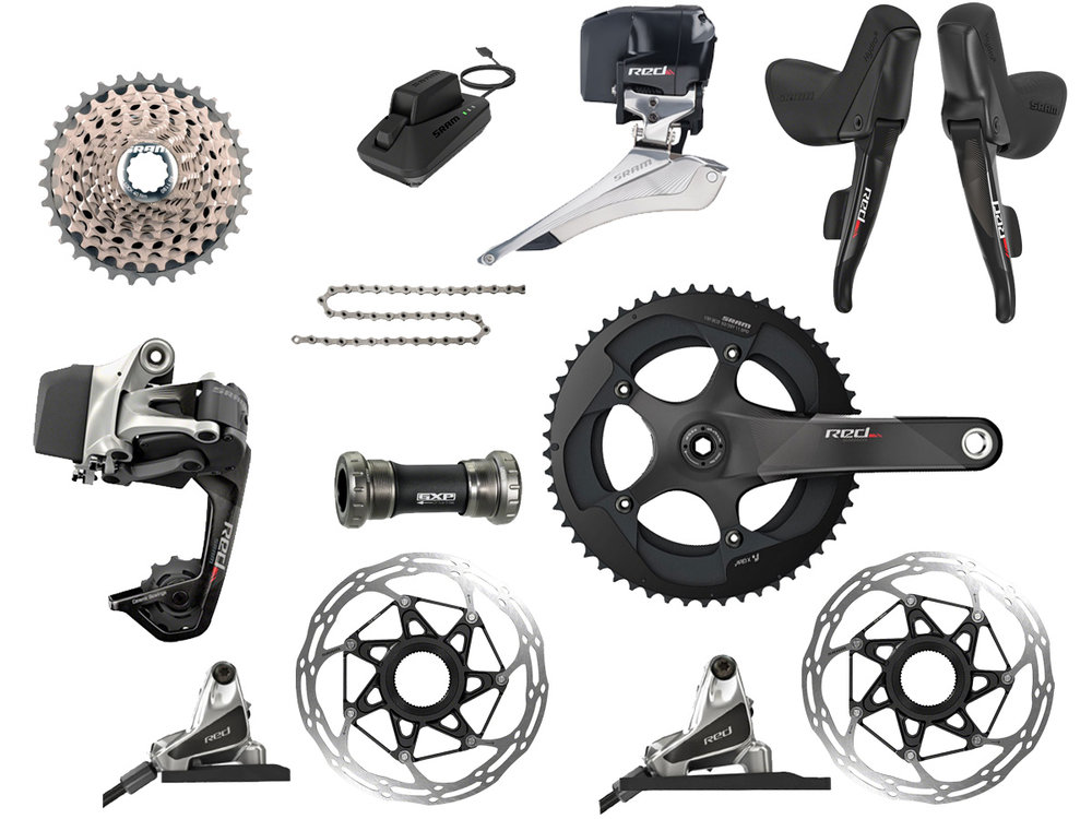 - Electric Wireless shifting // Hydraulic flat mount disc brake  - Cassette: 11-30 tooth // Chainring: 52-36 tooth  - Crank lengths: 165mm, 170mm, 172.5mm, 175mm  - $2499 (with purchase of frame)