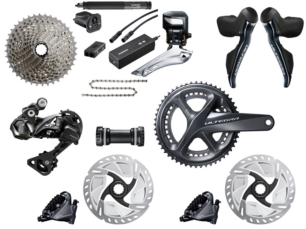- Electric shifting // Hydraulic flat mount disc brake  - Cassette: 11-42 tooth // Chainring: 46-36 tooth  - Crank lengths: 165mm, 167.5mm, 170mm, 172.5mm, 175mm  - Featuring Deore XT RD-M8050 rear derailleur  - $1660 (with purchase of frame)
