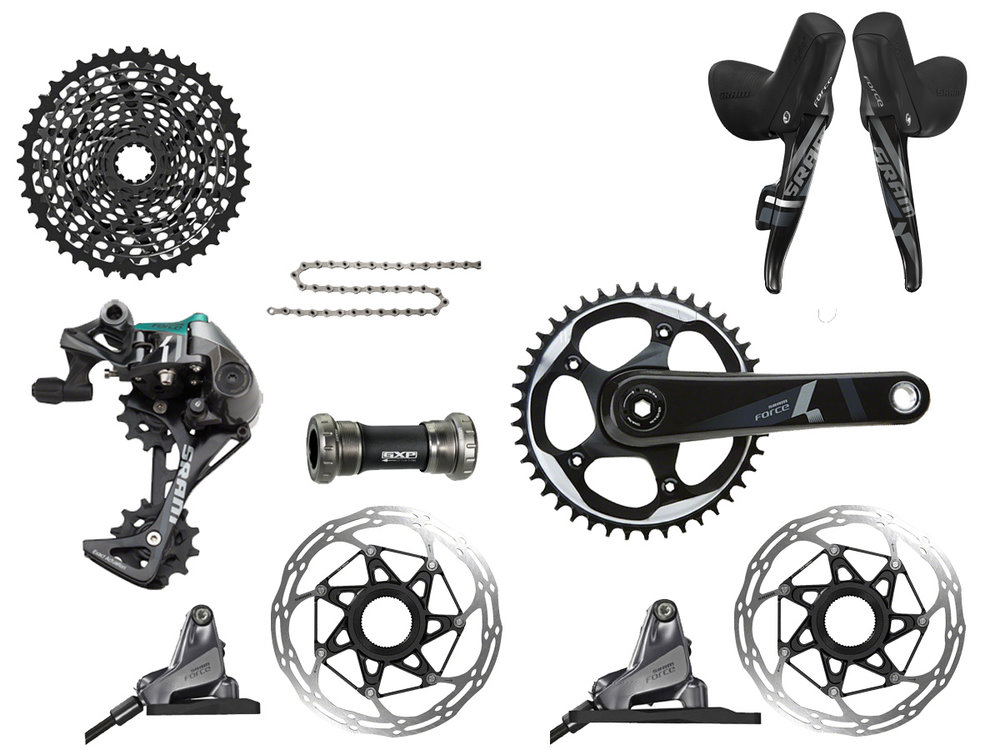 - Mechanical shifting // Hydraulic flat mount disc brake  - Cassette: 10-42 tooth // Chainring: 42 tooth  - Crank lengths: 170mm, 172.5mm  - Requires XD hub driver  - $1299 (with purchase of frame)