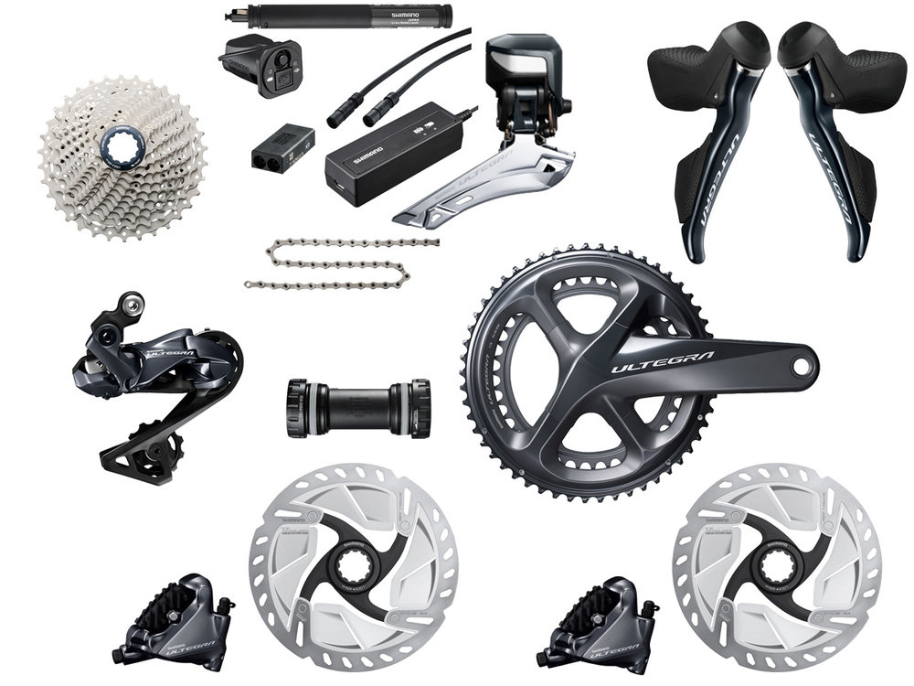 - Electric shifting // Hydraulic flat mount disc brake  - Cassette: 11-30 tooth // Chainring: 52-36 tooth  - Crank lengths: 165mm, 167.5mm, 170mm, 172.5mm, 175mm  - $1,660 (with purchase of frame)