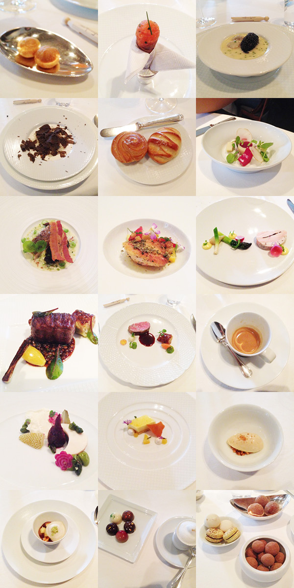 J for Jamie Blog | What we ate at The French Laundry