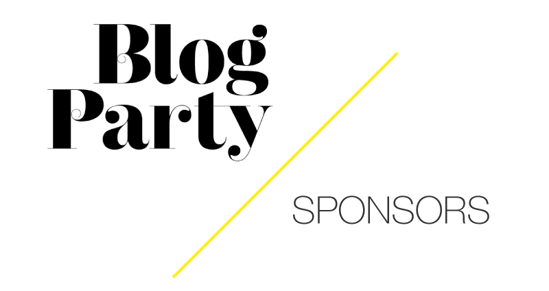 Blog Party | 140711 Sponsors