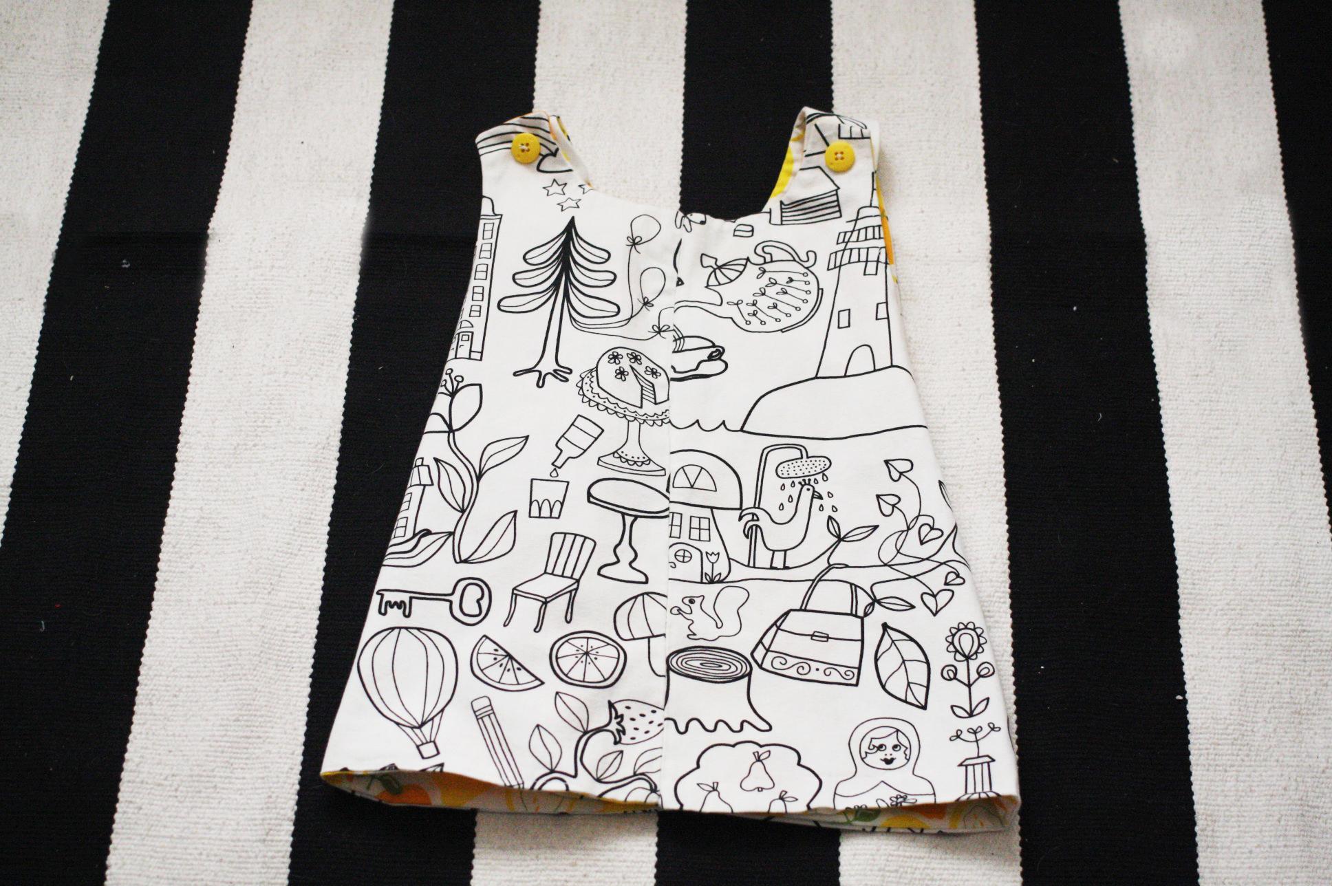J for Jamie Blog | Toddler Art Smock