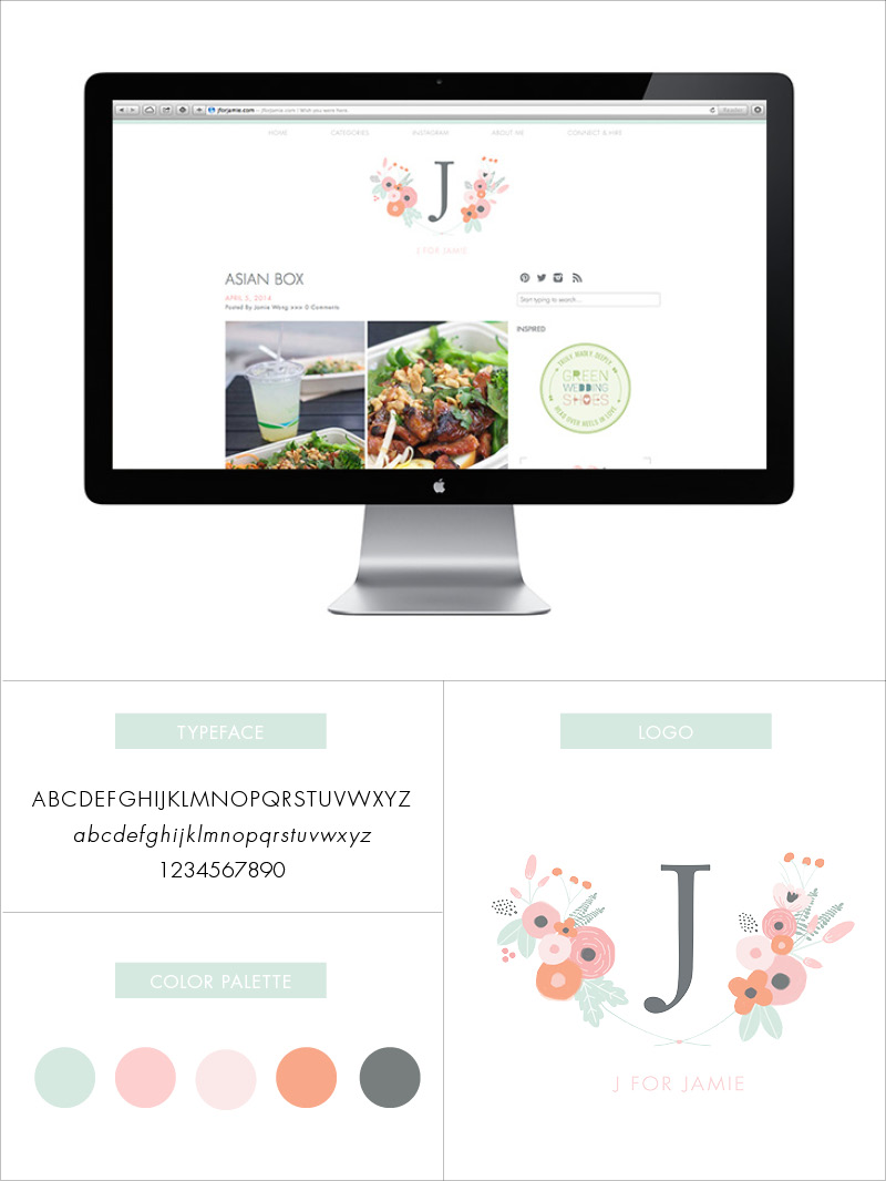 J for Jamie Blog | Site Redesign
