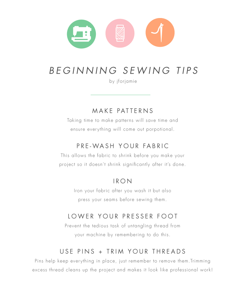 J for Jamie Blog | Sewing Tips