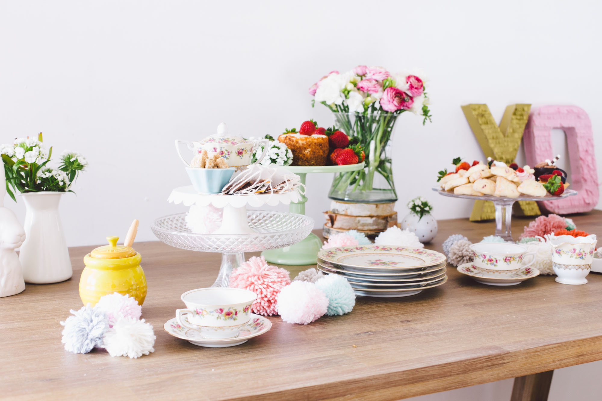 J for Jamie Blog | Houzz Galentines Tea Party - Photo by Nanette Wong