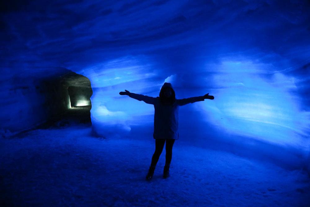 Glacier Cave, Iceland | J for Jamie Blog