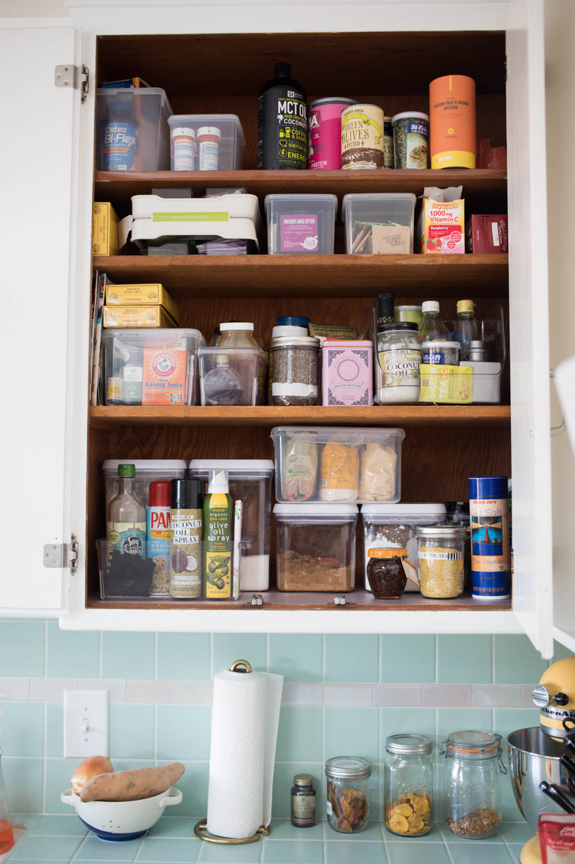 Organizing My Kitchen J For Jamie - Where to put things in kitchen cabinets