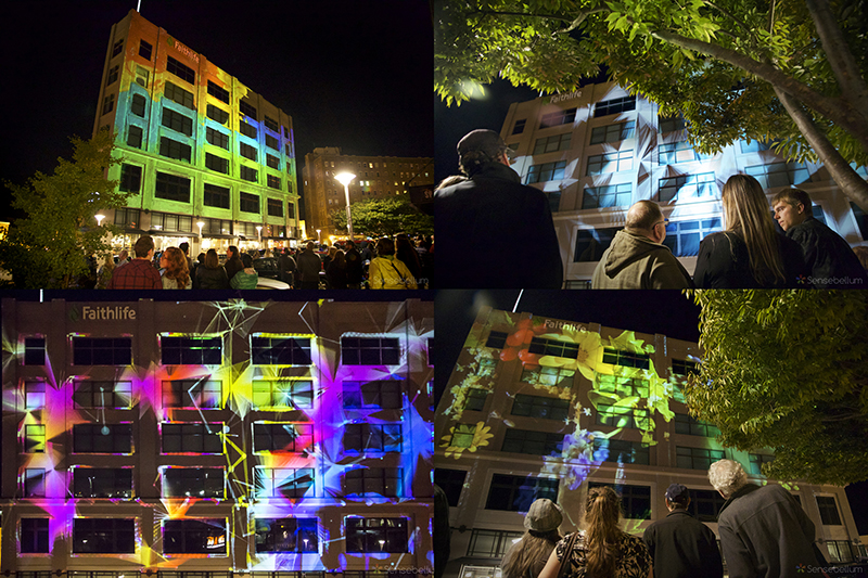 Sensebellum Projection Mapping Bellingham Washington Creative COmpany Light Art Urbna Fall Faithlife.jpg