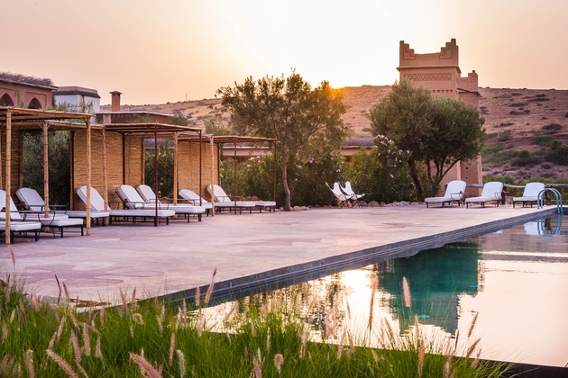 The luxurious Morocco setting for Mindfulness Journeys' yoga & meditation retreat