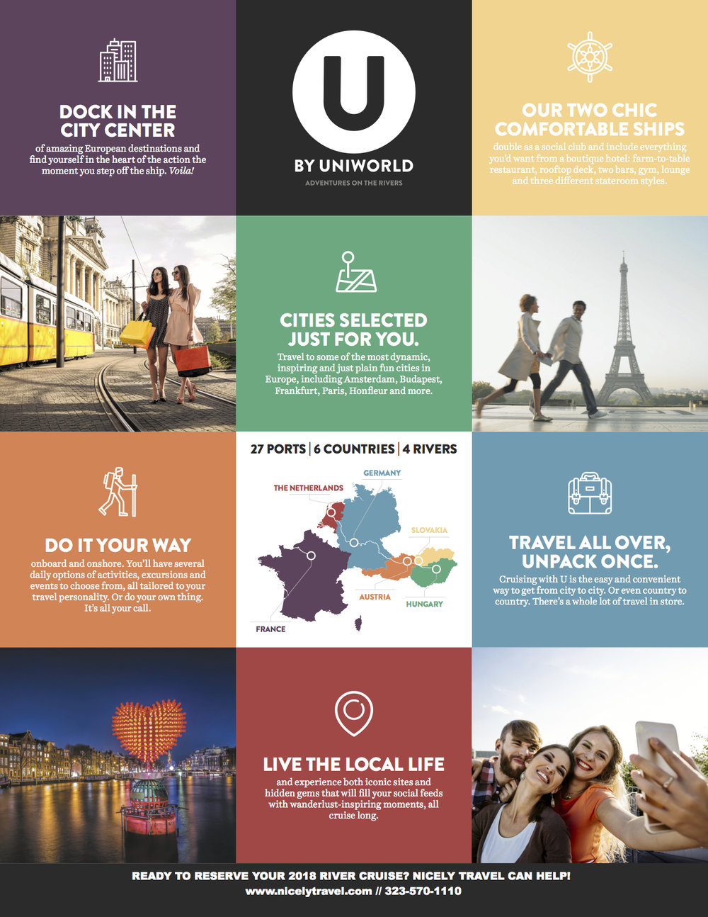 U by Uniworld informational flyer