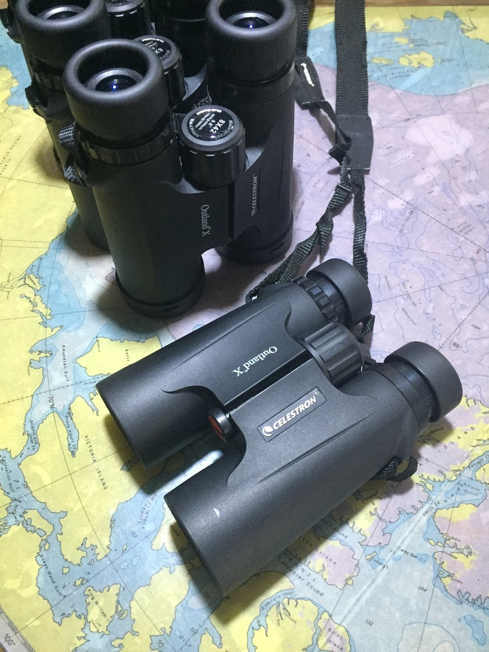 Binoculars for all guests.