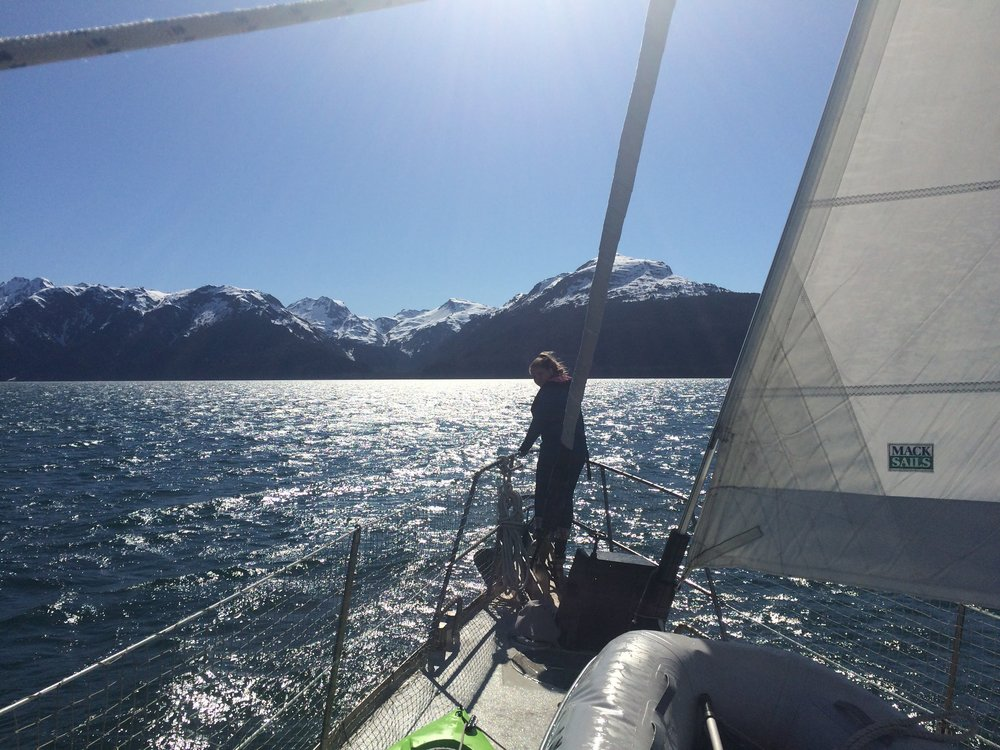 """Resurrection Bay is listed as the #1 sailing destination in the book """"50 Places to Sail Before you Die"""" by Chris Santella."""