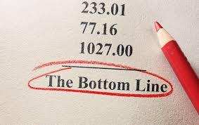 管理拾穗:企業的底線(Bottom Line) -