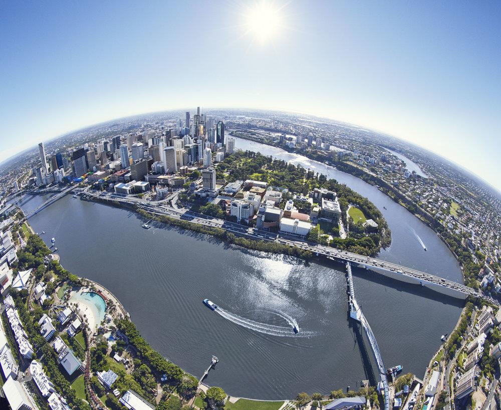 Brisbane aerial image