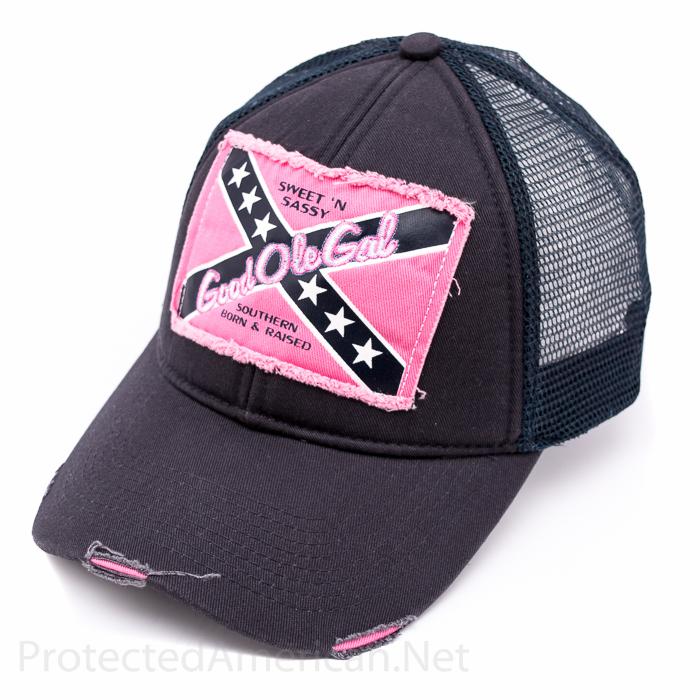 Good Ole Gal Rebel - Hat — Protected American 7e8fe757b7f