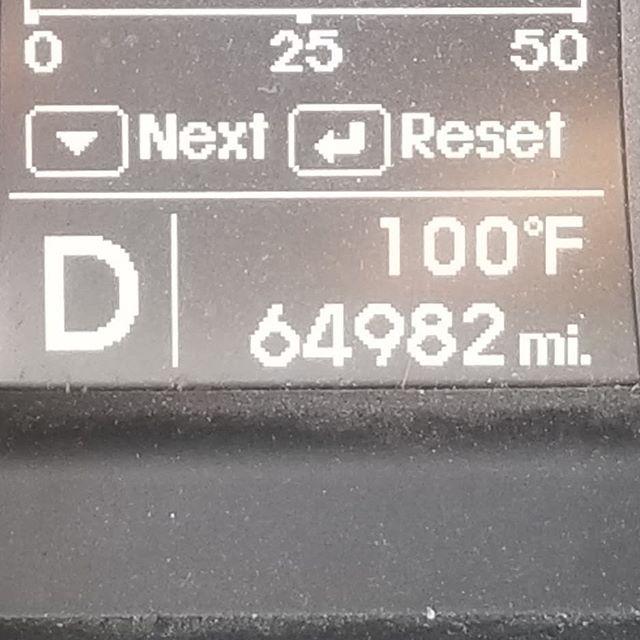 Work flow.....100 degrees.  Smh