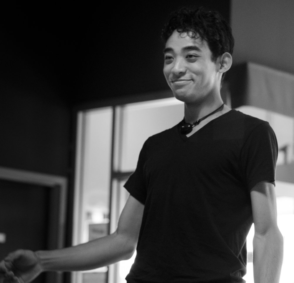 Matthew Matsunami   Matthew has been dancing blues for a bit more than 4 years, previously coming from the land of Latin and Argentine Tango, and since then taking brief trips into the Swings. Finally, he is settling upon Fusion and Blues. He immediately fell in love with the improvisational freedom these dances give, as well as how they provide various methods to connect with another human. He really loves his isolations and syncopations. His philosophy of partner dance - that it is highly conversational with plenty of adjectives, adverbs and other parts of speech - is something he brings to dancing, teaching, and DJing. [Photo Credit - Nathan Cordova Studios