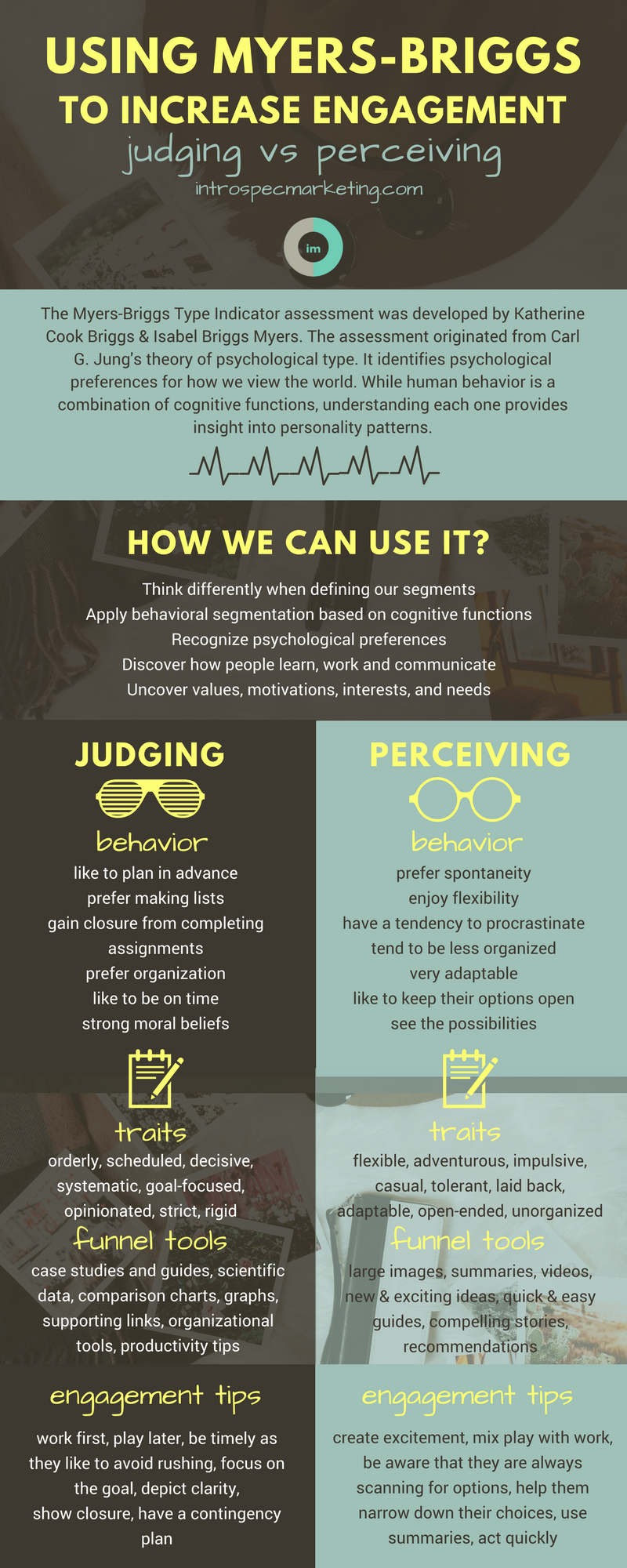Using Myers-Briggs to Increase Engagement: Judging vs Perceiving