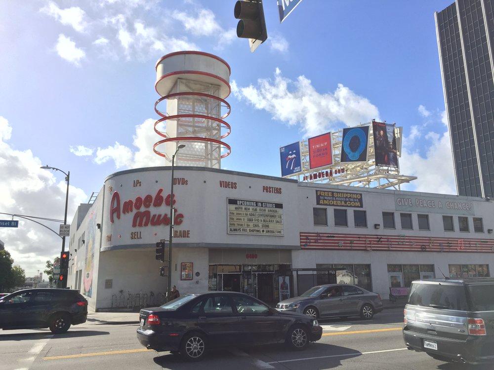 Amoeba Music, Hollywood. Photo by Brandon Salaz.