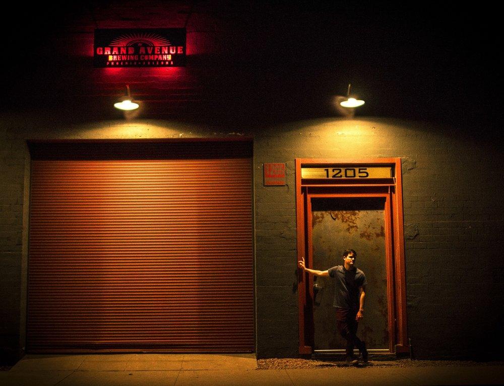 Grand Avenue after dark. PC: Marzana Aktar @ursa_novamedia