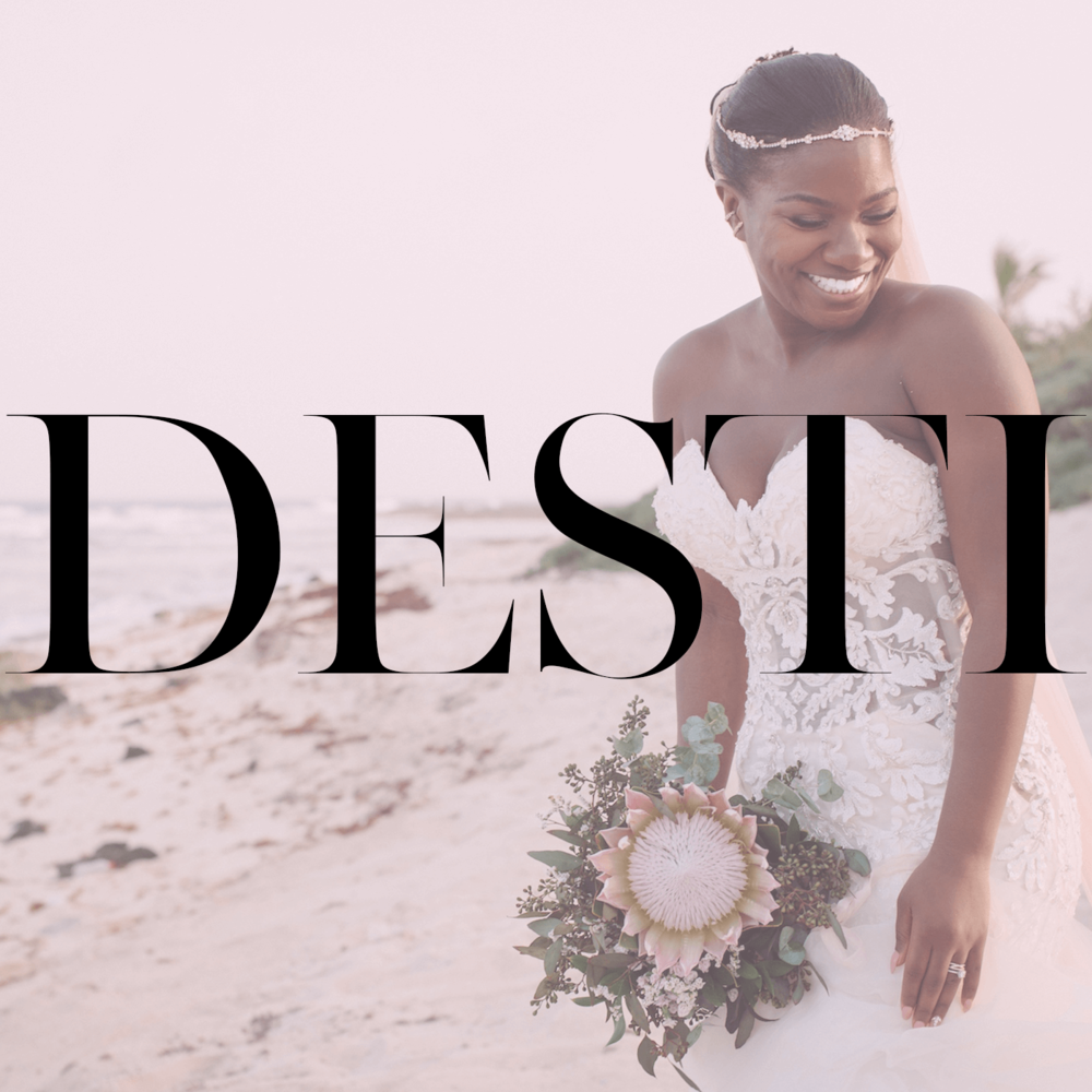 DESTI HQ - DESTI.LAND is THE place to be if you're planning a destination wedding!Home of The DESTI Guide To Destination Weddings Podcast + DESTI TV + Black Destination Bride