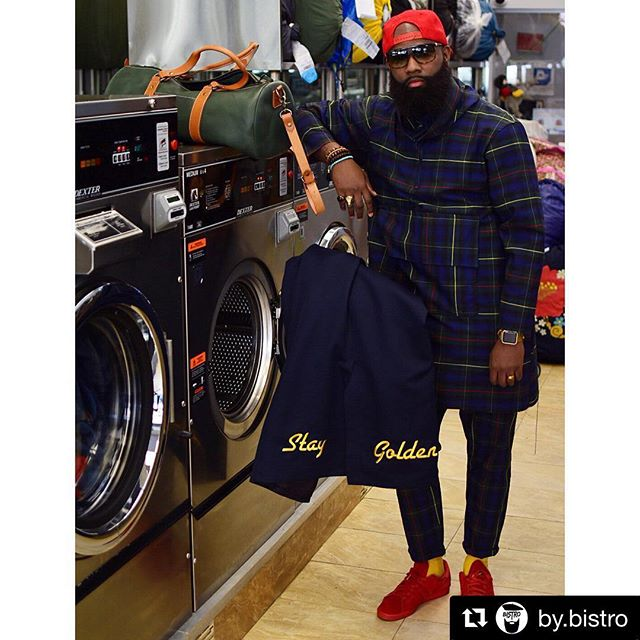 When your friends have more swag than you. @by.bistro showing a different look with our bags - especially combined with his custom hand sewn jumpsuit that he designed and made. . . / Find Your Journey / . . #boulevardeast #staygolden #swagfordays #skillslikejoey